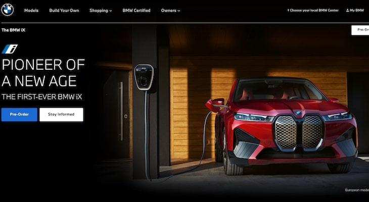 Top electric car companies: BMW