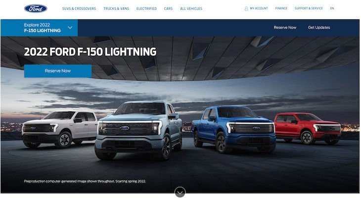 Top electric car companies: Ford