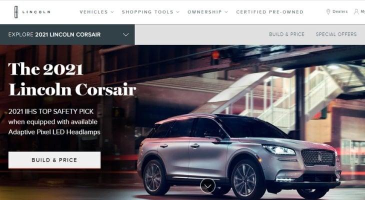 Best hybrid crossover: Lincoln Corsair Grand Touring