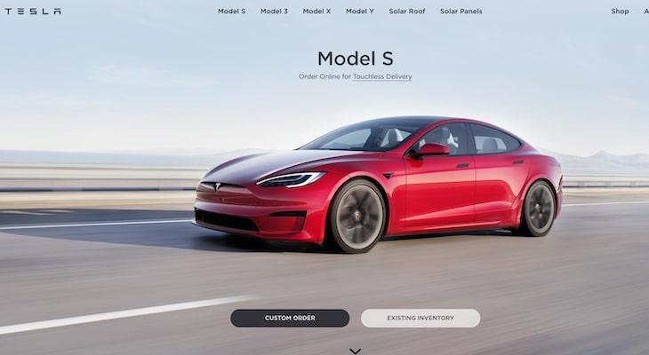 Top electric car companies: Tesla
