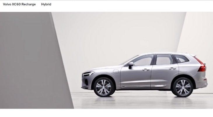 Best hybrid crossover: Volvo XC60 Recharge