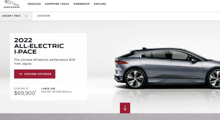 Electric crossover: Jaguar I-Pace