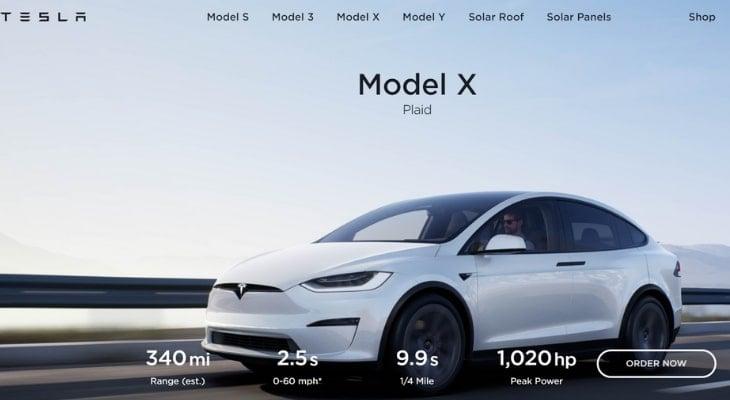 Electric crossover: Tesla Model X