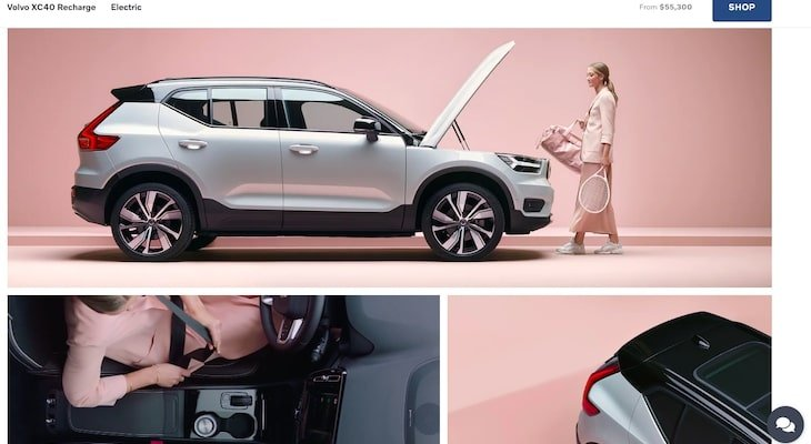 Electric crossover: Volvo XC40 Recharge